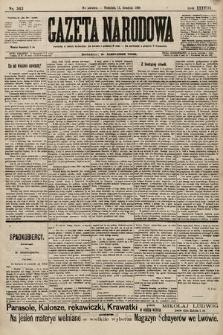 Gazeta Narodowa. 1898, nr343