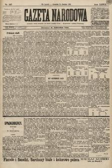 Gazeta Narodowa. 1898, nr347