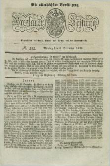 Breslauer Zeitung : mit allerhöchster Bewilligung. 1833, No. 283 (2 December) + dod.