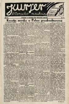Kurjer Literacko-Naukowy. 1934, nr26