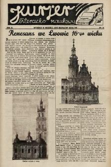 Kurjer Literacko-Naukowy. 1934, nr34