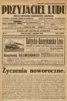 Przyjaciel Ludu : organ Polskiego Stronnictwa Ludowego. 1924, nr1