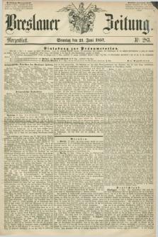 Breslauer Zeitung. 1857, Nr. 283 (21 Juni) - Morgenblatt + dod.