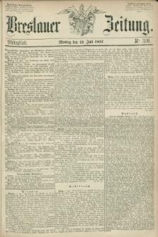 Breslauer Zeitung. 1857, Nr. 320 (13 Juli) - Mittagblatt