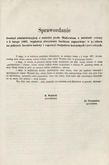 [Kadencja II, sesja II, al.69] Alegata do Sprawozdań Stenograficznych z Drugiej Sesji Drugiego Peryodu Sejmu Galicyjskiego z roku 1868. Alegat[69]