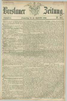 Breslauer Zeitung. 1858, Nr. 432 (16 September) - Mittagblatt