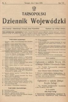 Tarnopolski Dziennik Wojewódzki. 1928, nr9