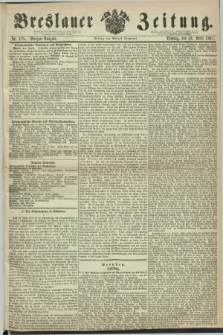 Breslauer Zeitung. 1861, Nr. 175 (16 April) - Morgen-Ausgabe + dod.