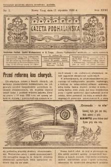 Gazeta Podhalańska. 1930, nr2