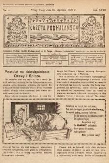 Gazeta Podhalańska. 1930, nr4
