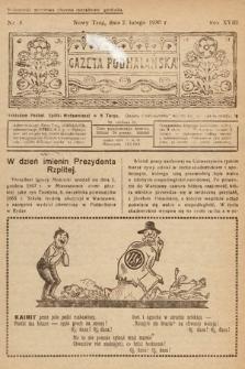 Gazeta Podhalańska. 1930, nr5