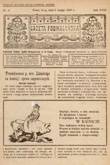 Gazeta Podhalańska. 1930, nr6