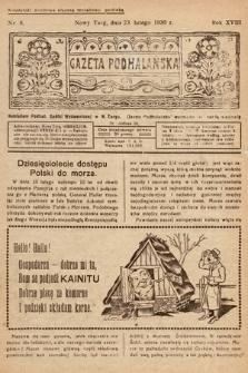 Gazeta Podhalańska. 1930, nr8