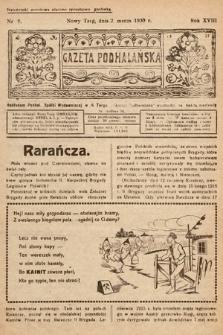 Gazeta Podhalańska. 1930, nr9