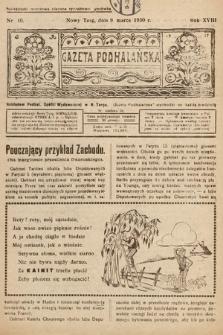 Gazeta Podhalańska. 1930, nr10