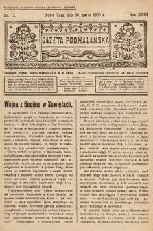 Gazeta Podhalańska. 1930, nr13