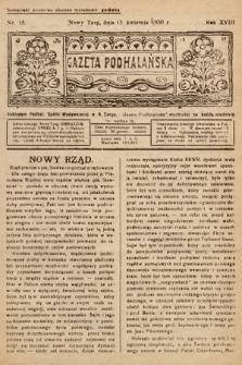 Gazeta Podhalańska. 1930, nr15