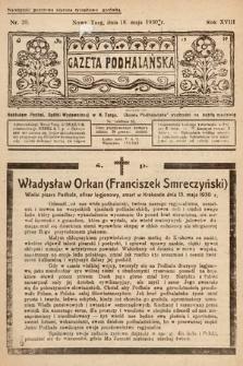 Gazeta Podhalańska. 1930, nr20