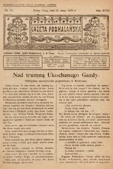 Gazeta Podhalańska. 1930, nr21