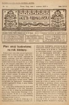 Gazeta Podhalańska. 1930, nr22