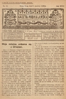Gazeta Podhalańska. 1930, nr23