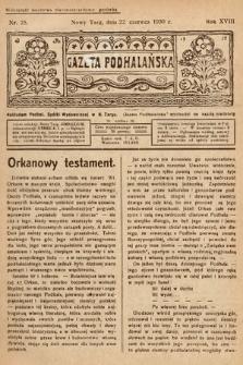 Gazeta Podhalańska. 1930, nr25