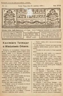 Gazeta Podhalańska. 1930, nr26