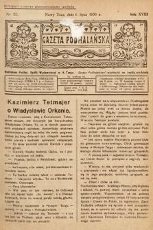 Gazeta Podhalańska. 1930, nr27