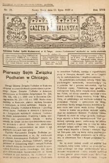 Gazeta Podhalańska. 1930, nr28