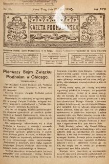 Gazeta Podhalańska. 1930, nr30