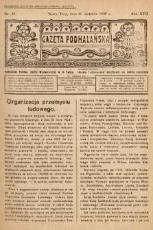 Gazeta Podhalańska. 1930, nr35