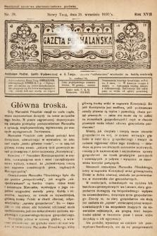 Gazeta Podhalańska. 1930, nr38
