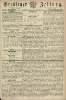Breslauer Zeitung. Jg.44, Nr. 169 (12 April 1863) - Morgen-Ausgabe + dod.