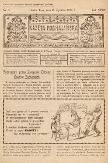 Gazeta Podhalańska. 1930, nr3