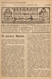 Gazeta Podhalańska. 1930, nr41
