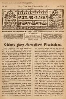 Gazeta Podhalańska. 1930, nr42