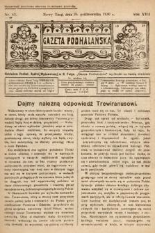Gazeta Podhalańska. 1930, nr43