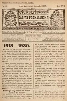 Gazeta Podhalańska. 1930, nr45