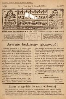 Gazeta Podhalańska. 1930, nr46