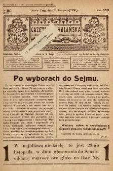 Gazeta Podhalańska. 1930, nr47