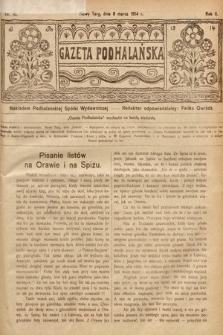 Gazeta Podhalańska. 1914, nr10