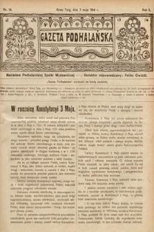 Gazeta Podhalańska. 1914, nr18