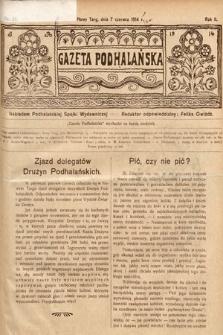 Gazeta Podhalańska. 1914, nr23