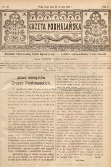 Gazeta Podhalańska. 1914, nr25