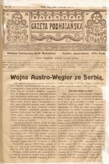 Gazeta Podhalańska. 1914, nr31