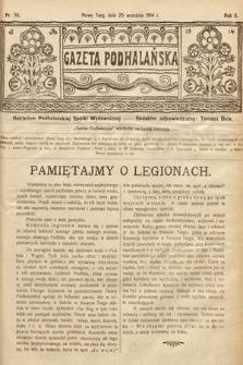 Gazeta Podhalańska. 1914, nr38