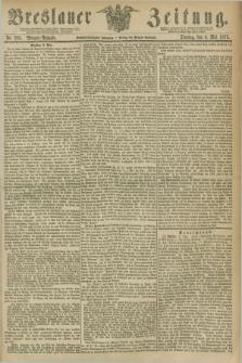 Breslauer Zeitung. Jg.56, Nr. 203 (4 Mai 1875) - Morgen-Ausgabe + dod.