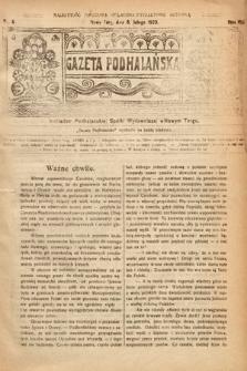 Gazeta Podhalańska. 1920, nr6