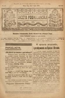 Gazeta Podhalańska. 1920, nr27