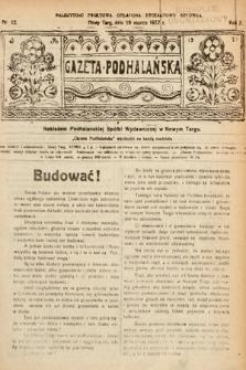Gazeta Podhalańska. 1922, nr12